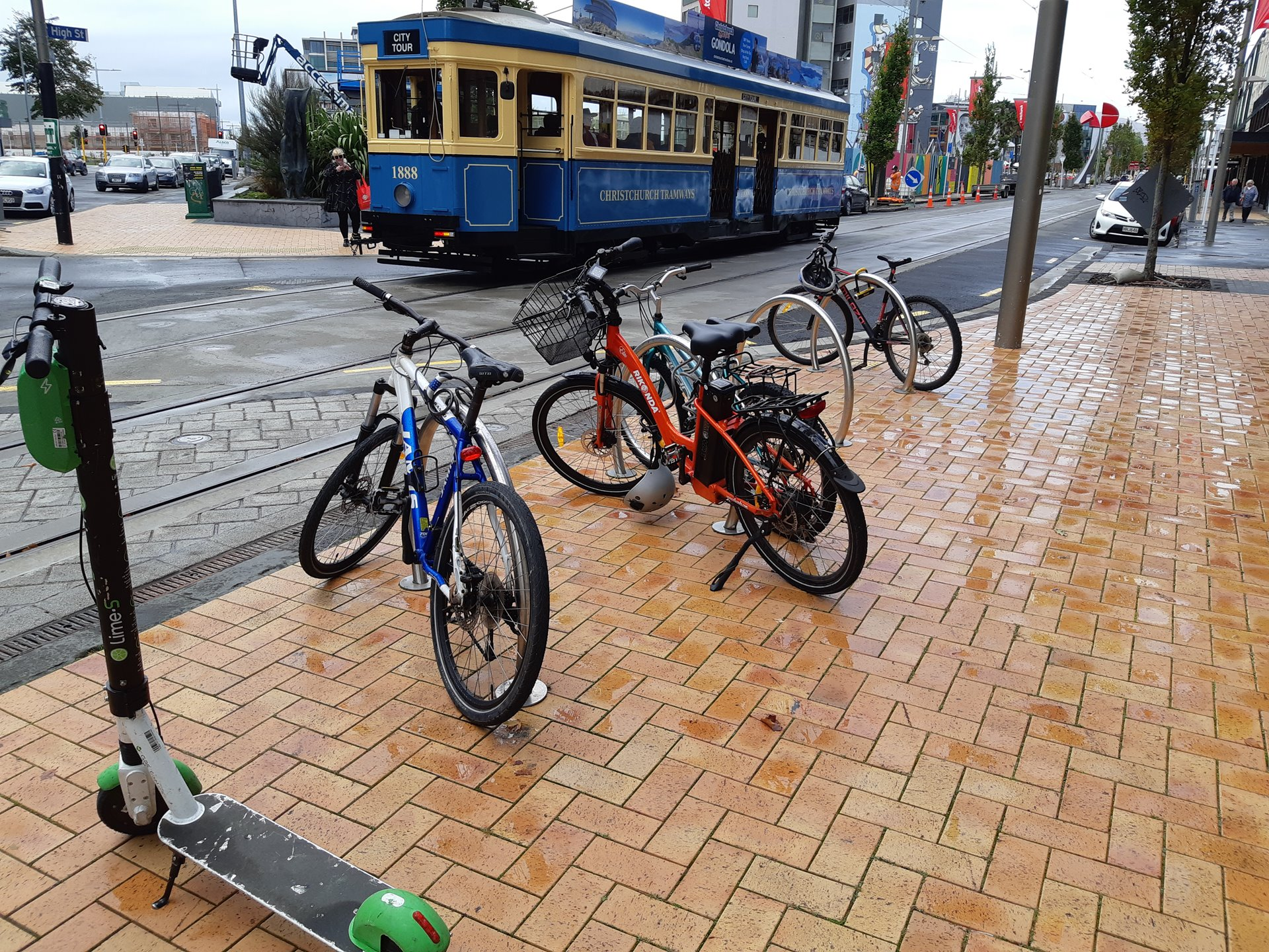 Transport options in Christchurch